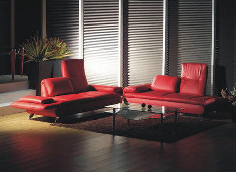 BexMod Furniture - Migliore Divano Calder 3 Piece Leather Sofa Set