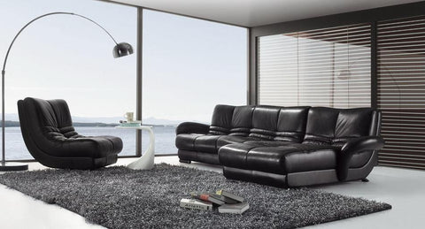 BexMod Furniture - Migliore Divano Caileigh 2 Piece Leather Sofa Set