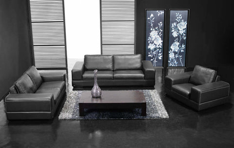 BexMod Furniture - Migliore Divano Caela 3 Piece Leather Sofa Set