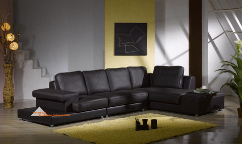 BexMod Furniture - Migliore Divano Cadyna Leather Sectional Sofa