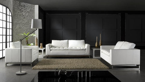 BexMod Furniture - Migliore Divano Caden 3 Piece Leather Sofa Set