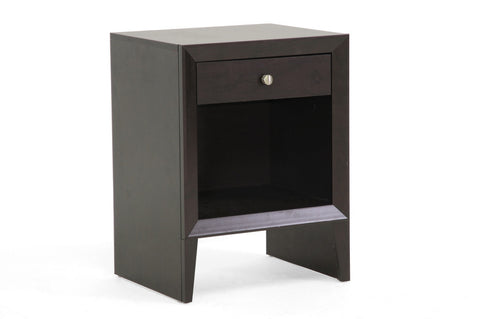 Baxton - Leelanau Brown Modern Accent Table and Nightstand