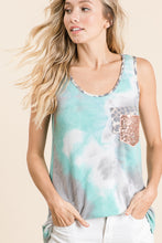 Load image into Gallery viewer, 1731- Penelope Tie Dye Tank