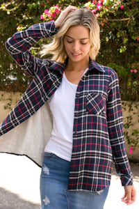 1919- Adila Flannel shirt