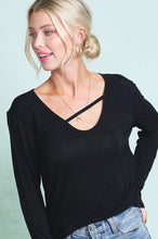 Load image into Gallery viewer, 2052- Simple & Sass Long Sleeve Top