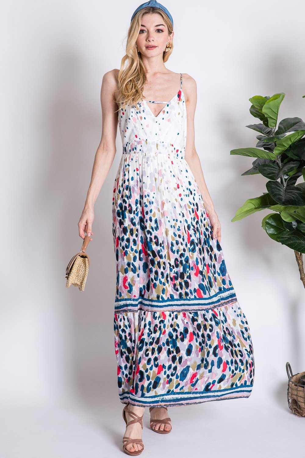 1802- Albion Maxi Dress