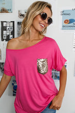 Load image into Gallery viewer, 1917- Adena glitter pocket tee