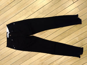 7267BK- High Rise Super skinny in Black