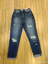 Load image into Gallery viewer, KC9147D-OP- Benny High Rise Girlfriend Jeans