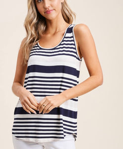 2902 - Thea Striped Tank Top