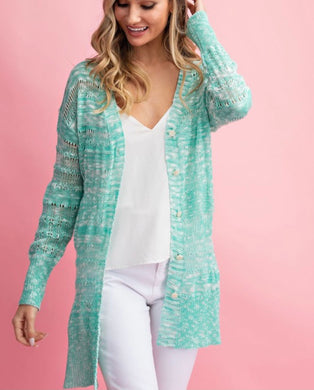 2723 - Mint for This Lightweight Cardigan