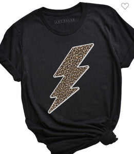 Fierce Lightning Bolt Tee