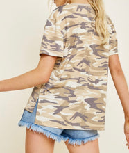 Load image into Gallery viewer, 1617 - Camo Short Sleeve Tee