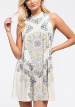 Load image into Gallery viewer, 1670 - Sleeveless Paisley Knit Dress
