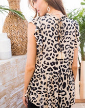 Load image into Gallery viewer, 2877 - Lylah Leopard Tiered Tank
