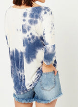 Load image into Gallery viewer, 1766 - Nora Tie Dye Top