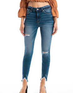 KanCan Gemma High Rise Ankle Skinny (KC8572)