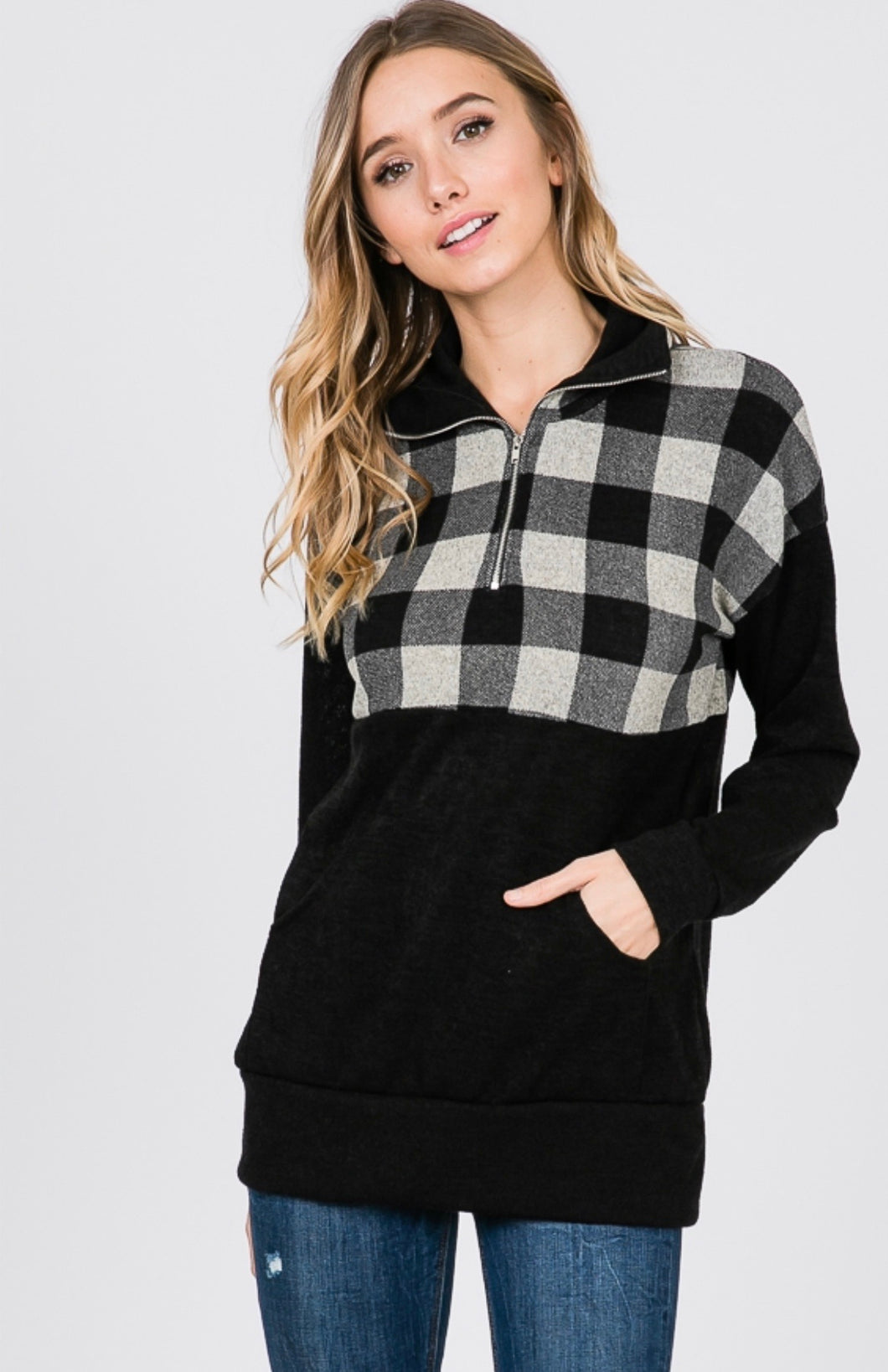 859 - Paden Plaid Pullover