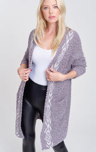 807 - New Haven Grey Cardigan