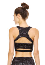 Load image into Gallery viewer, 2063 - Stormy Night Back Cutout Bra Top