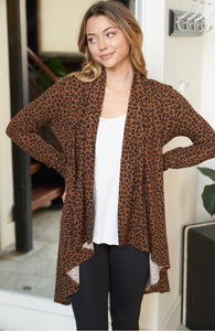 2495 - Rumors Leopard Cardigan