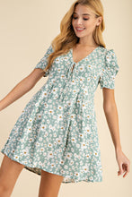 Load image into Gallery viewer, 2637 - Juniper Floral Dress