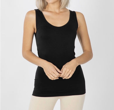Seamless Solid Tank Top
