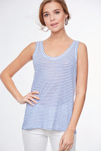Load image into Gallery viewer, 1749 - Daisy Denim Tank Top