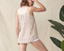 Load image into Gallery viewer, 2863 - Spring Fever Sleeveless Top