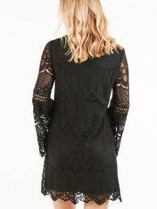 2229 - Your the Perfect Date Lace Dress