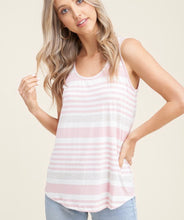 Load image into Gallery viewer, 2902 - Thea Striped Tank Top