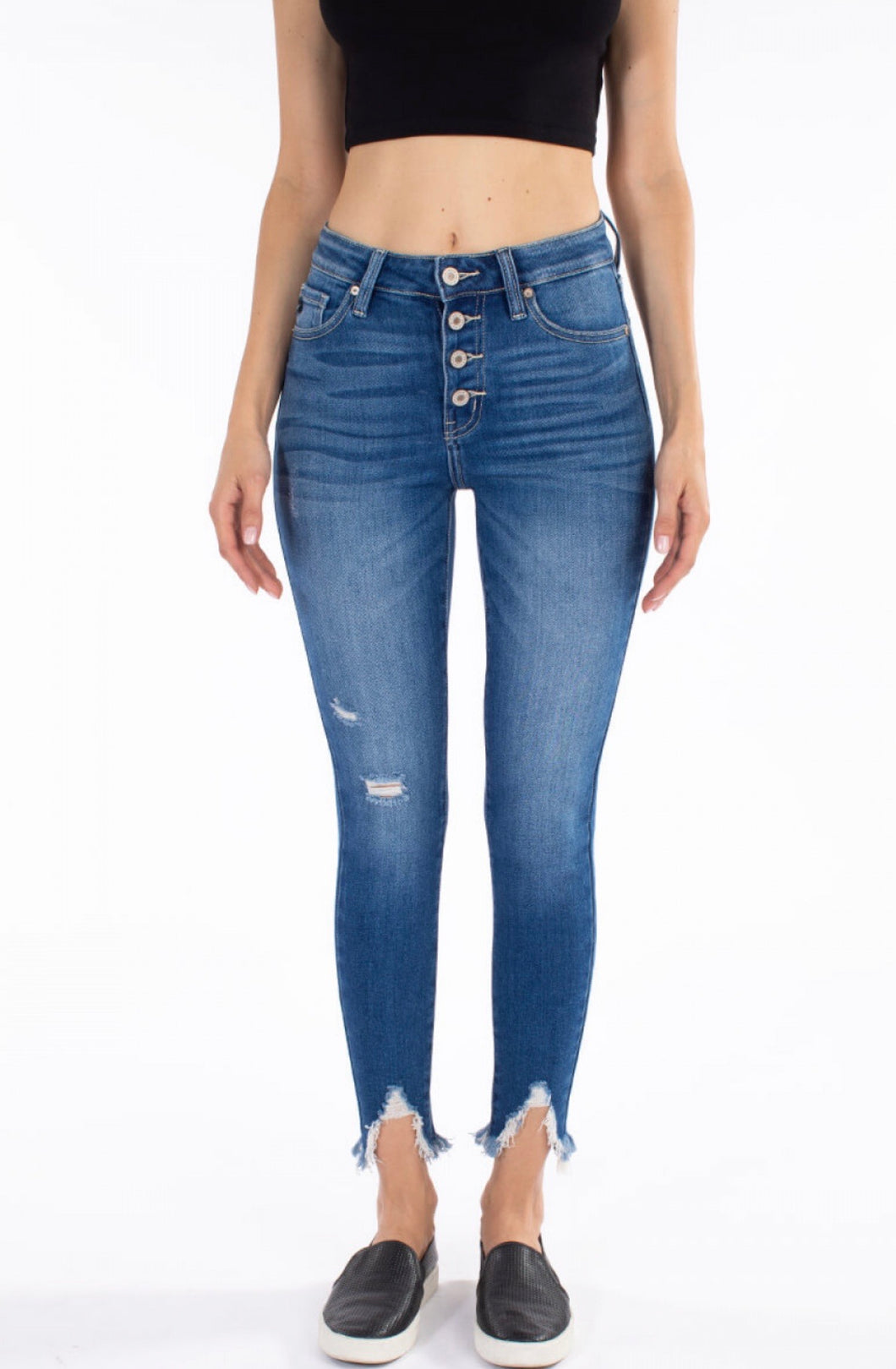 9183 - Gemma High Rise Ankle Skinny