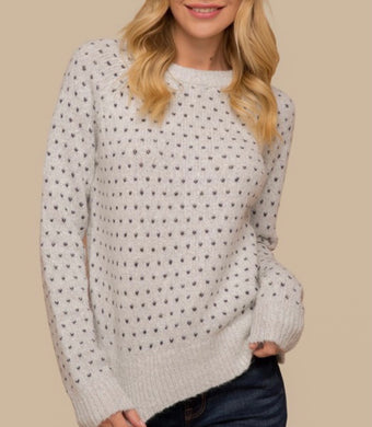 2630 - Happy Hearts Knitted Sweater