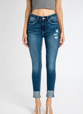 KC8563 - PLUS Gemma High Rise Ankle Skinny