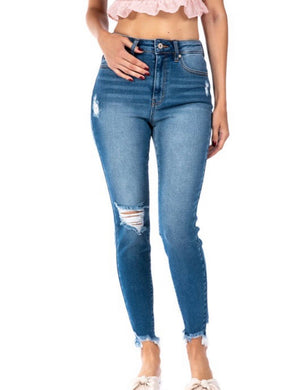 KanCan Gemma High Rise Ankle Skinny (KC8567)