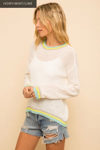 1242 -  Fair & Fine Lightweight Sweater