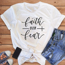 Load image into Gallery viewer, Faith Over Fear Shirt