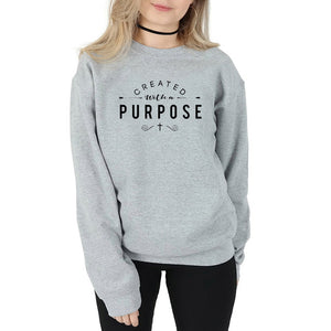 Created With A Purpose Sweater