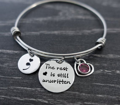 The Rest Is Still Unwritten Bangle
