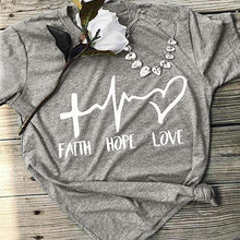Load image into Gallery viewer, Faith Hope Love Shirt