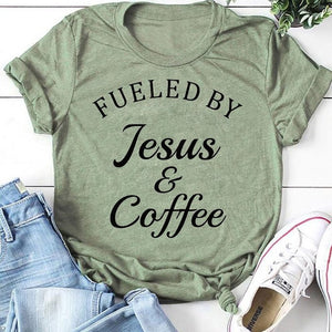 Fueled By Jesus & Coffee Shirt