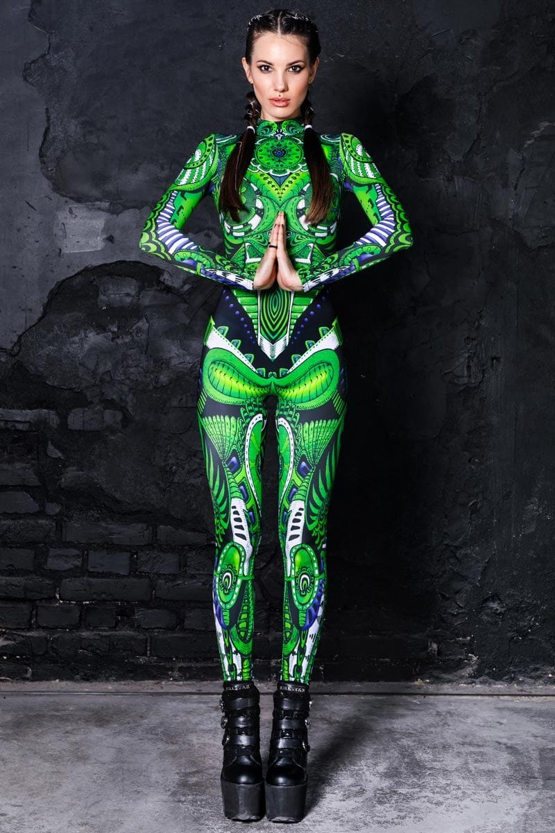 green-biomechanical-catsuit