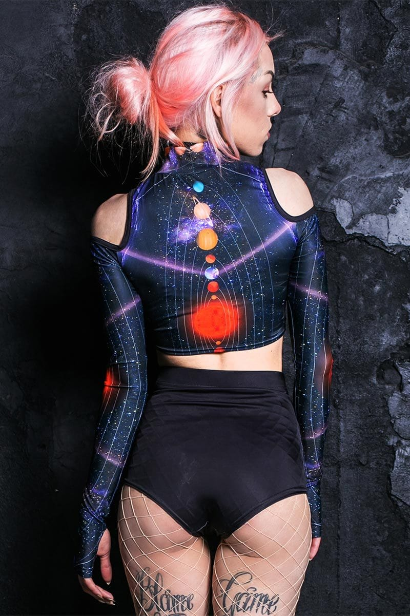 space-invader-cold-shoulder-crop-top
