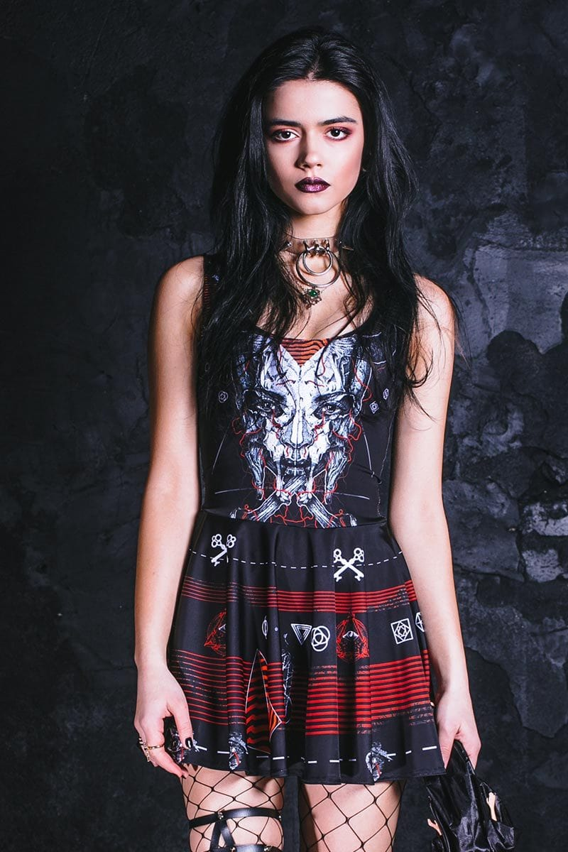 punk-rock-skull-dress