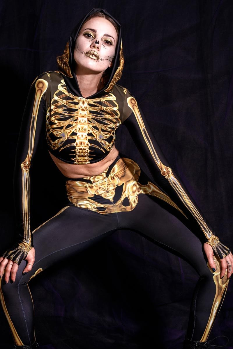 gold-skeleton-hooded-top