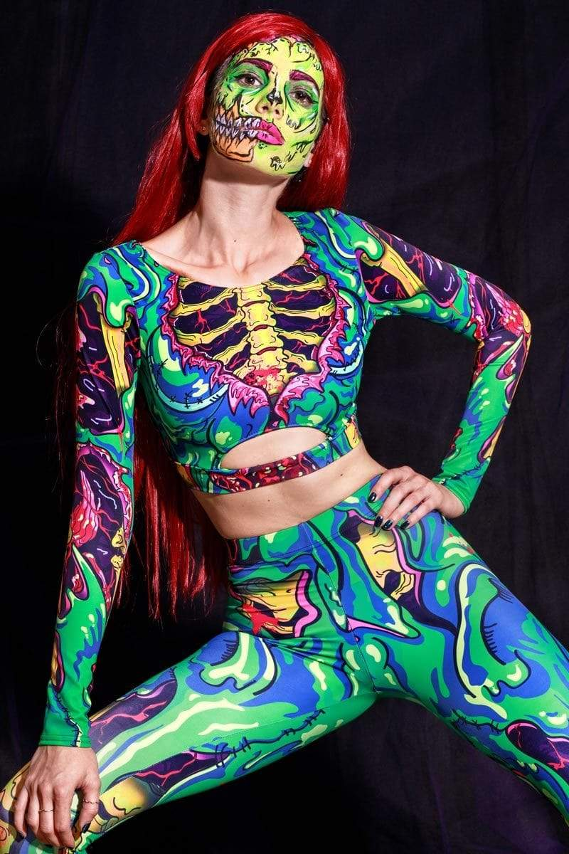 zombie-women-long-sleeve-top