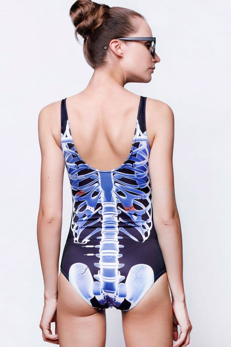 Skeleton Swimsuit