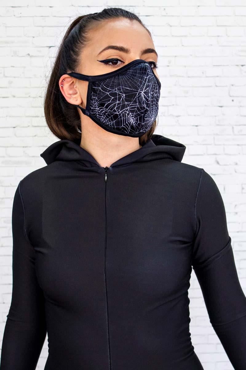 Spider Web Reusable Face Mask
