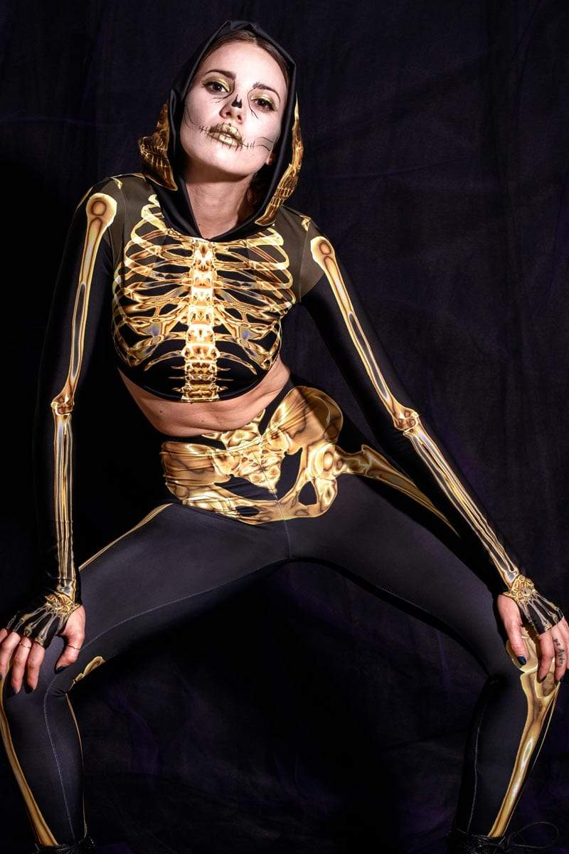gold-skeleton-matching-set