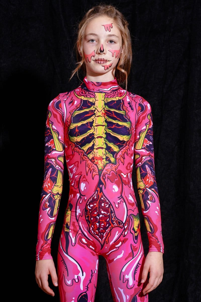 Pink Zombie Girl Costume